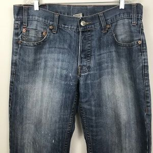 True Religion mens 38 x 34 Logan buttonfly jeans
